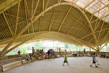 World bamboo structures