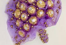 Candy Bouquet / Cukríková kytica, bonbónová kytica, kytica zo sladkostí, lízatková kytica