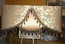 Pelmets and curtains