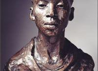 Year 7 Sculptural Heads - Valda Jackson / Y7 Clay Head project