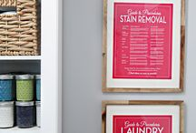 New Laundry Room / by Kellie Kutter
