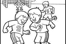 Kleuters thema WK voetbal
