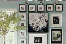 Wall decorations & photo placement in flat