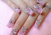 Depressive nail art
