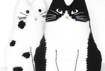 Kissat mustavalkoiset