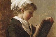 arte - Gaston de La Touche (1854-1913) / arte - pittore francese