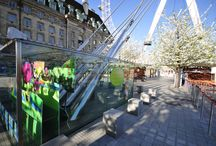 Display Graphics & Window Graphics | London Eye Easter Bunny / Like what you see? View projects alike at www.octink.com
