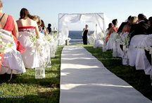weddings / wedding Mykonos decoration flowers