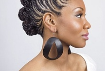 Natural Hair Styles for Wedding / I don't want to change my hair texture / by Anitra Woodard