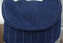 Сумка из джинсов (Denim Bag) / Сумки из джинсов своими руками. Идеи для переделок. выкройки.