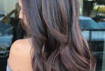 Iluminaciones cabello negro