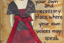 i love mixed media / by Michele Tyler