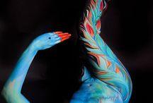 Cuerpo pintado