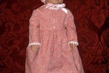Doll dresses / I am making doll dresses from different periods of history.  http://www.calicoannie.net