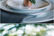The Beauty of Copper / Wedding Decor using Copper