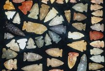 Stone tools and other types.