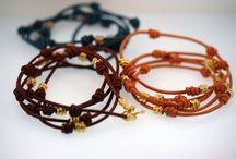 Bracelets / Handmade bracelets in our Manhattan studio