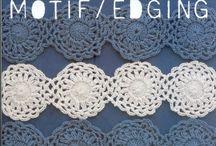 Bordes, edging crochet