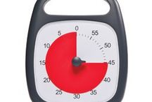 NEW Time Timer PLUS / As time elapses, the red disk gradually disappears under a clear and durable lens, making the new Time Timer PLUS an ideal time management tool for all ages. / by Time Timer LLC