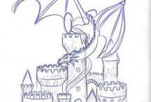 I am Fire I am Death / dragons, fire, dragon fire and stuff