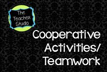 Cooperative Learning and Teamwork:The Teacher Studio / A collection of projects, ideas, and blog posts about working cooperatively.  Cooperative learning and collaboration are great ways to improve student engagement and learning.  Teamwork is the key to success career readiness!