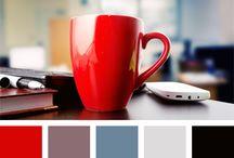 Red and Blue Colour Palette / by Marko Čakarević
