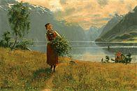 Art ~ Hans Dahl-Novég festő
