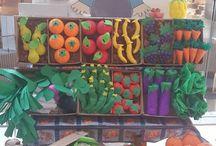 okul öncesi meyve ve sebzeler
