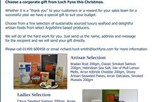Corporate Gifts for Christmas from Loch Fyne / Gifts