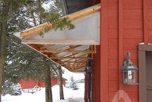 Wind Breaks, Green House Ideas