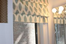 Roman Blinds / Our board for Roman blind inspiration and guidance