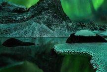 natuur noorderlicht