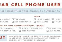 Cell Phone Etiquette / by techsytalk