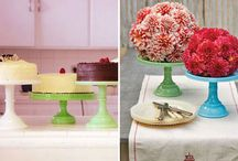 I heart cake stands