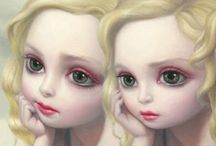 BIG EYE'S PAINTINGS Margaret Keane