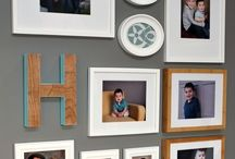 Photo Walls / How to create a photo wall that looks great!  / by Kim Demmon (today's creative blog)