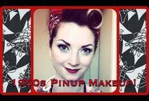 Pin Up Hair And Makeup