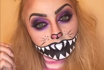 Halloween 2016! / Collection of my own makeup I've created. Varies from costume to occasion makeup!