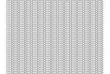 Mønster papir til Perler