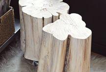 drewniane stoliki