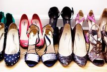"""Shoes / """"You put high heels on and you change."""" -Manolo Blahnik / by Sydney Becker"""