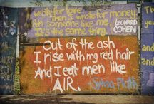 Sylvia Plath / by Shannon Finnell