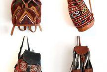 African Print Backpack