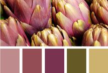 Color Palettes  / by When Creativity Knocks Free Craft TV