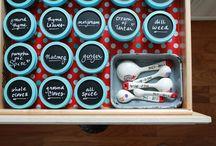 Kitchen organizing / by Ashley Sexton Townsend