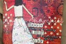 Art journals/Mixed Media / by Karen James