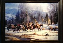 Martin Grelle / Authorized dealer for Martin Grelle Giclee Reproductions and limited edition prints. Whether painting the Native Americans in a dramatic, picturesque setting, or the American cowboy in the dusty cattle-working pens, Martin Grelle captures the spirit, beauty, and vastness of the West in his historically-accurate, compelling images.