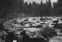 Nude - In nature
