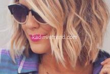 Saç kesim ve renk