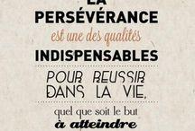 citation persévérance